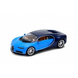 Bugatti Chiron 2017 Blue / Black 1:24