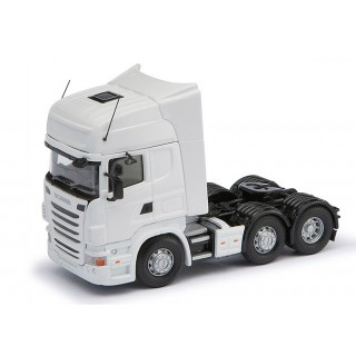 Scania R Facelifth 6x2 Topline white cab 1:50