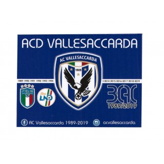 ACD Vallesaccarda Magnete Ufficiale 30° anno