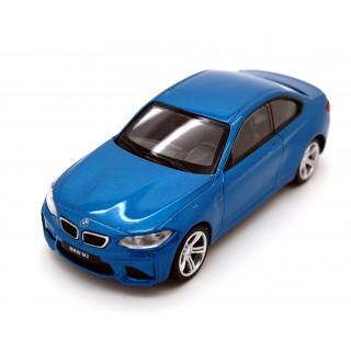 BMW M2 Coupe 2017 blue 1:43