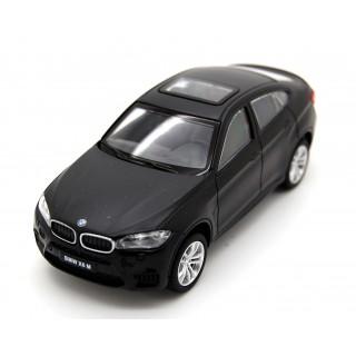 BMW X6M 2016 matt black 1:43