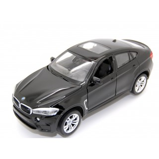BMW X6M 2018 black 1:24