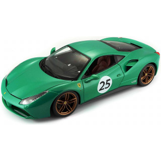 "Ferrari 488 GTB 2015 ""The Green Jewel"" 1:18"