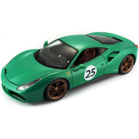 """Ferrari 488 GTB 2015 """"The Green Jewel"""" 1:18"""