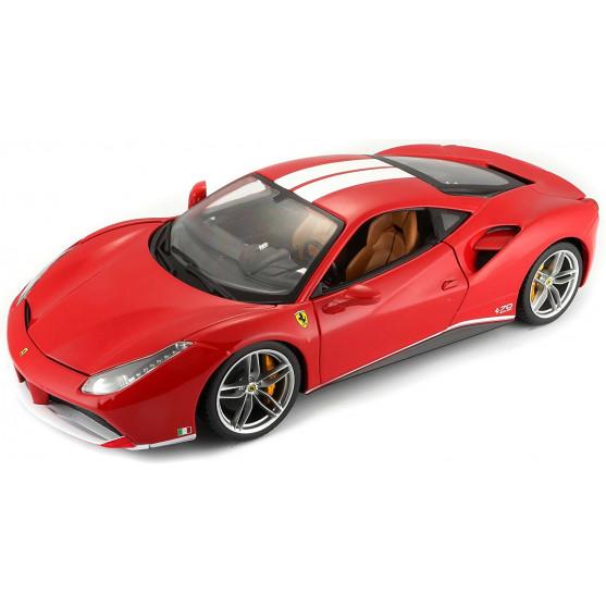 """Ferrari 488 GTB 2017 """"The Schumacher"""" 1:18"""