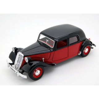 Citroen 15 CV TA 1938 Rouge Black 1:24