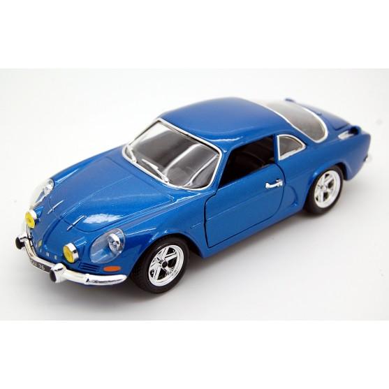 Alpine Renault A110 1600S 1971 bleu de france 1:24