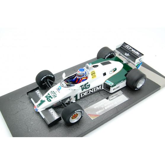 Williams Ford FW08C Winner Monaco Gp 1983 Keke Rosberg 1:18