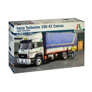 Iveco Turbostar 190-42 Canvas whit elevator Kit 1:24