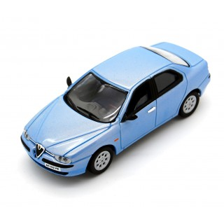 Alfa Romeo 156 1998 azzurro metallizzato 1:43