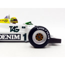 Williams Ford FW08C F1 Test Doninghton 19 july 1983 Ayrton Senna 1:18