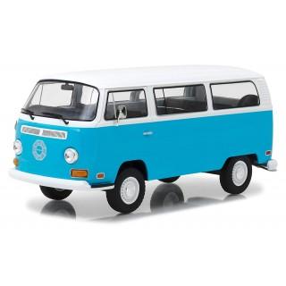 """Volkswagen type T2 bus """"Lost"""" azzurro-bianco 1:24"""