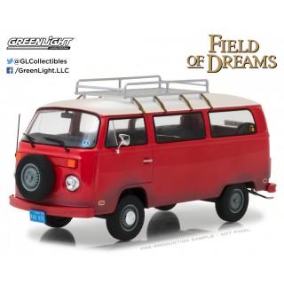 "Volkswagen type T2 1973 bus ""Field of Dreams"" Rosso 1:24"