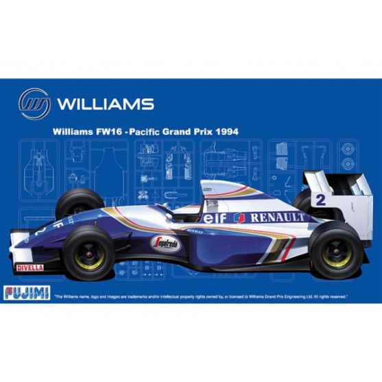 Williams Renault FW16 Pacific GP 1994 Kit 1:20