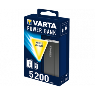 Power Bank Varta 5200mAh Antracite