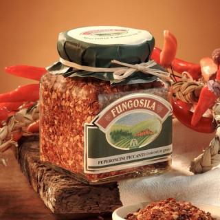 Peperoncini Piccanti Essiccati a grana Fungosila 290 g