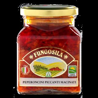 Peperoncini Macinati Piccanti Fungosila 290 g