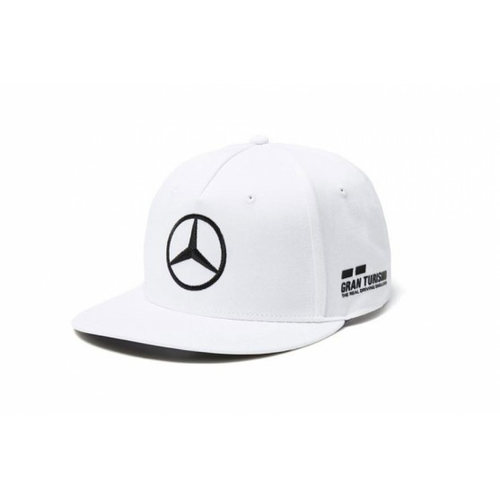 Mercedes-Amg Petronas F1 2018 Cappello Lewis Hamilton Flat White