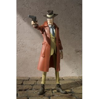 "SH Figuarts Zenigata dal cartoon ""Lupin III"" Action Figures 15cm"