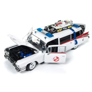 "Cadillac Ambulance 1959 ""Ghostbusters Ecto-1"" white/red 1:18"