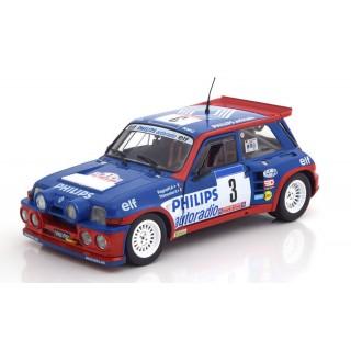 "Renault 5 Maxi Turbo Rally Gr ""B"" Tour de Course 1985 Ragnotti/Thimonier 1:18"