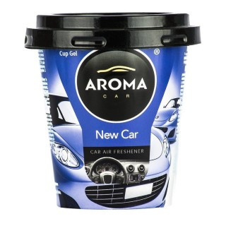 "Aroma Car Cup Gel Profumo ""New Car"""