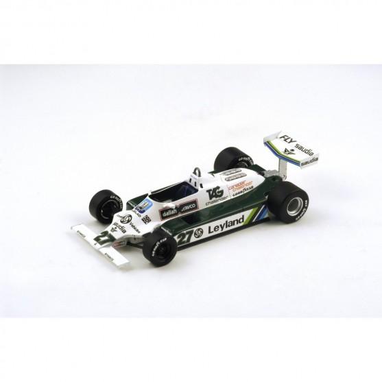 Williams Ford FW07B F1 1980 World Champion Alan Jones 1:18