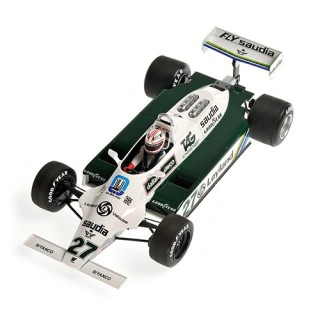 Williams Ford FW07B F1 1980 World Champion Alan Jones 1:18