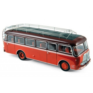 Panhard Bus K 173 Red/Dark Red 1949 1:43