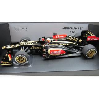 Lotus Renault E21 Winner Australian GP 2013 Kimi Raikkonen 1:18