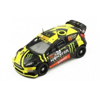Ford Fiesta RS WRC 46 Winner  Rallye Monza 2017 V.Rossi/C.Cassina 1:43