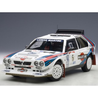 "Lancia Delta S4 ""Martini"" 1986 Winner Argentina Rally Biasion / Siviero 1:18"