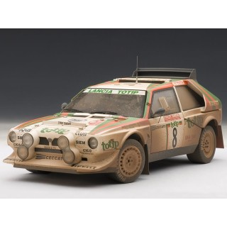 """Lancia Delta S4 """"Totip"""" 1986 Rally San Remo Cerrato / Cerri versione sporca 1:18"""