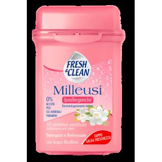 Fresh & Clean Milleusi Ipoallergeniche 40 pz