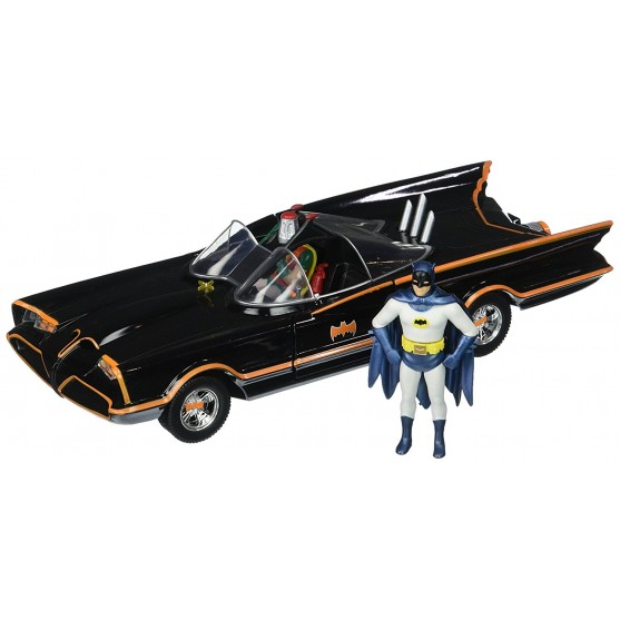 BATMOBILE 1966 with Batman Figure 1:24