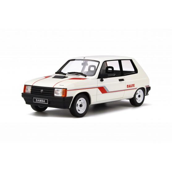 Talbot Samba Rally Bianco Blanc Meije 1983 1:18