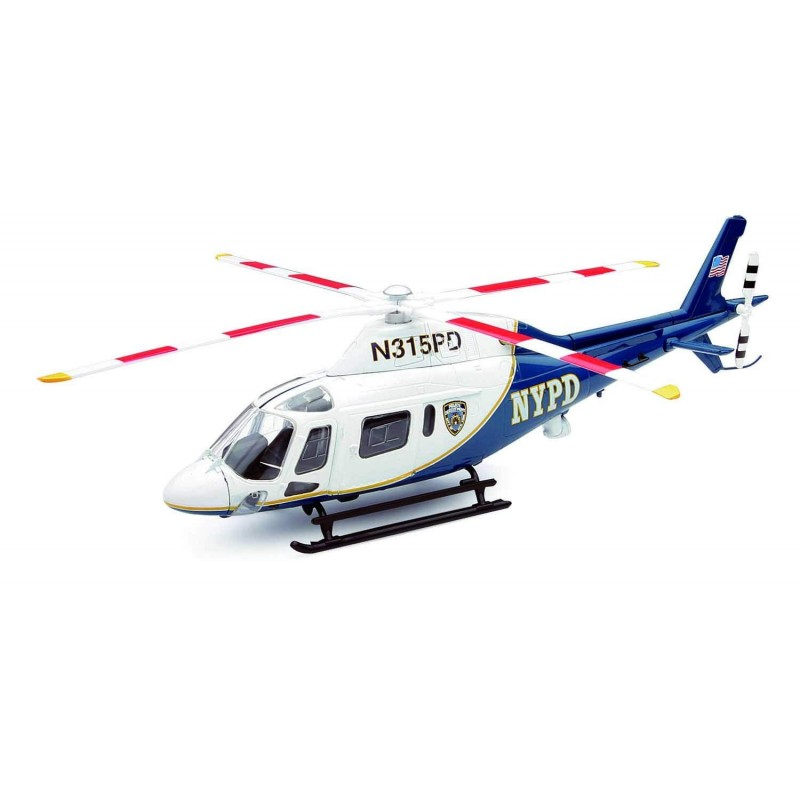 "Agustawestland Aw 109 Koala Helicopter ""NYPD"" 1:43"