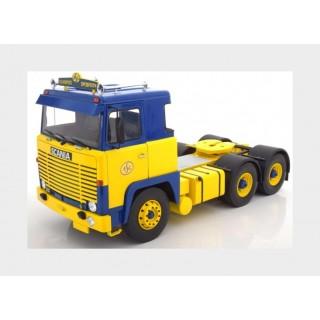 "Scania LBT 141 ""ASG"" 1976 giallo blu 1:18"