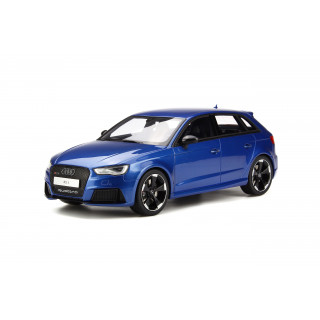 Audi RS3 Sportback Blu 2015 1:18