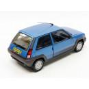 Renault Super Cinque GT Turbo 1986 blu metallizzato 1:18