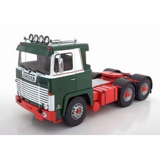 Scania LBT 141 6x4 Trattore Stradale 1976 verde 1:18