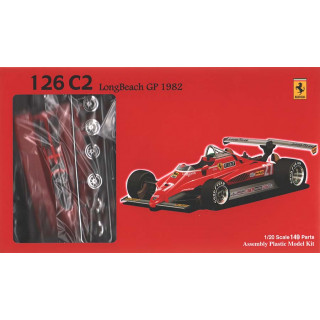 Ferrari 126C2 Long Beach GP 1982 Kit 1:20