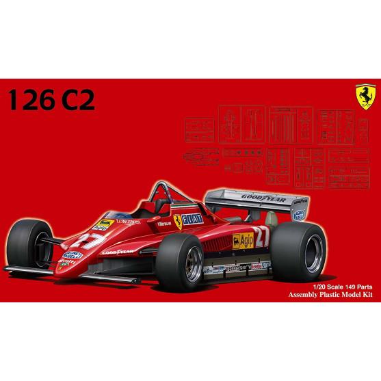 Ferrari 126C2 1982 Kit 1:20