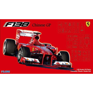 Ferrari F138 Chinese Gp 2013 Kit 1:20