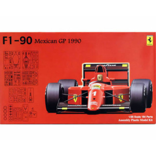 Ferrari 641/2 F1 1990 Mexican Gp Kit 1:20