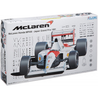 Mclaren Honda MP4/6 Japan Grand Prix 1991 Kit 1:20