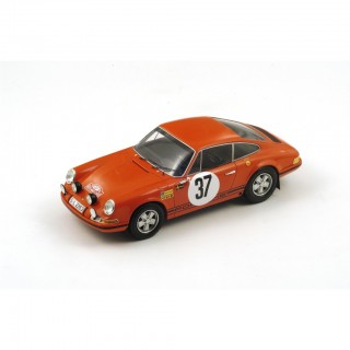 Porsche 911 Vincitore Monte Carlo Rally 1969 B. Waldegaard - L. Helmer 1:18