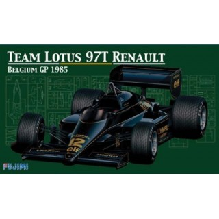 Lotus Renault  97T Belgium Grand Prix 1985 Kit 1:20