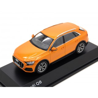 Audi Q8 2018 Dragon Orange metallic 1:43