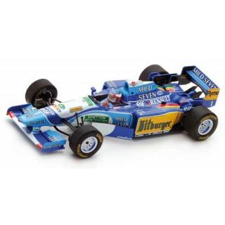 Benetton Ford B195 Michael Schumacher winner Monaco GP 1995 1:43